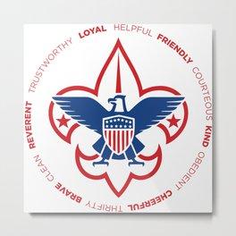 Scout Law Metal Print