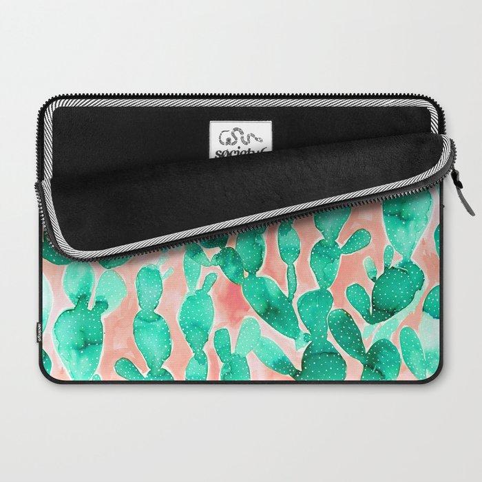 Paddle Cactus Blush Laptop Sleeve