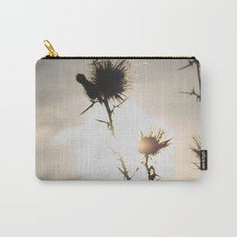 milk thistle silhouette Carry-All Pouch
