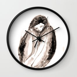Empty Hug Wall Clock
