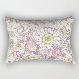 Beauty (eye of the beholder) - pale version Rectangular Pillow