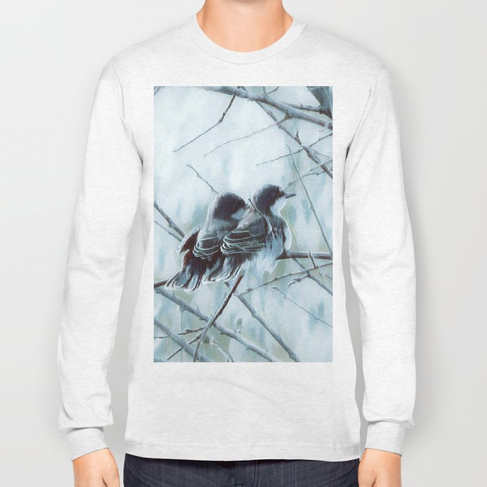Side by Side Long Sleeve T-shirt