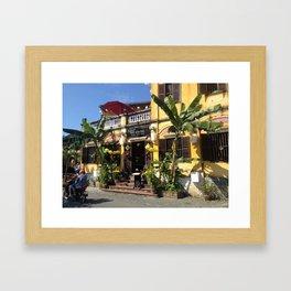 Lovely Streets of Hoi An Framed Art Print