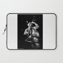 The old contrabass player Laptop Sleeve
