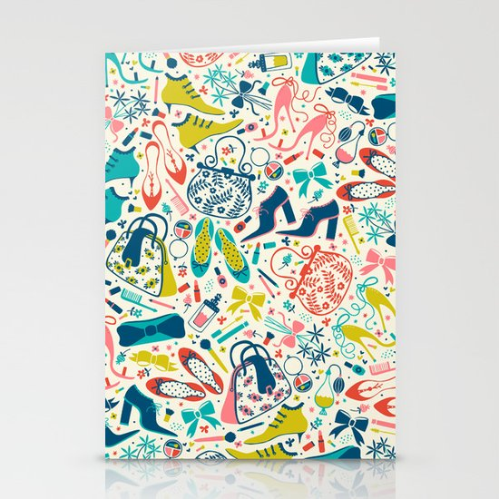 Heels and Handbags Stationery Cards