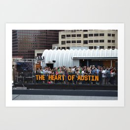 SXSW Art Print