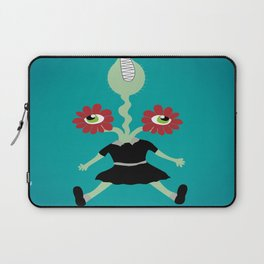 Flower Eyes Laptop Sleeve