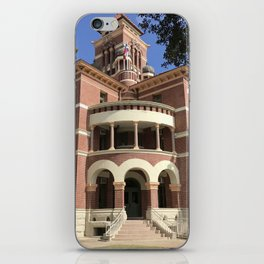 Gonzales County Courthouse iPhone Skin