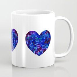Three Space Hearts Coffee Mug