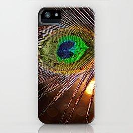 Pfau Licht iPhone Case