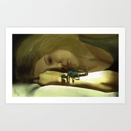 Helena Orphan Black Art Print
