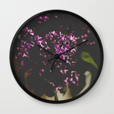 Her Heart Held Secrets Wall Clock