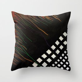 Spilling Square Throw Pillow