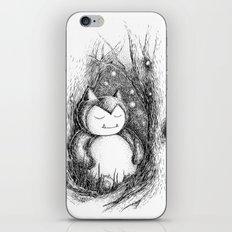 Snoozy Snorlax iPhone & iPod Skin