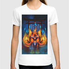 9 Tails Fire Fox T-shirt