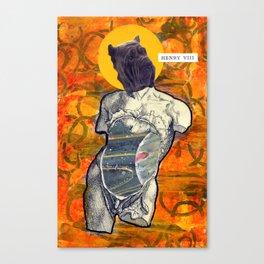 Divine Dog -- Shar Pei Canvas Print