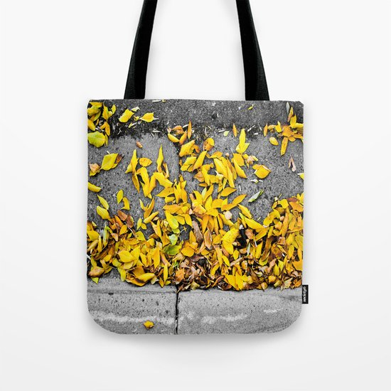 Guttered Fall Tote Bag