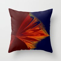 arrow Throw Pillows featuring arrow by donphil