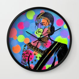 Adorned Wall Clock