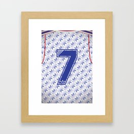 United Away 91 Framed Art Print