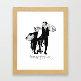 Go Your Own Way Framed Art Print