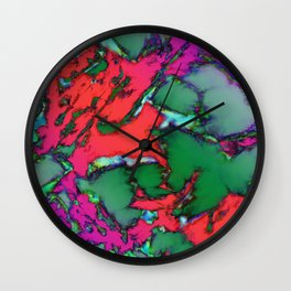 Isolated places Wall Clock
