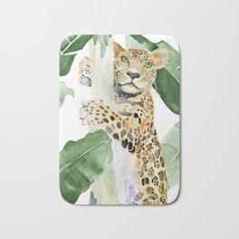Jaguar in Jungle Bath Mat