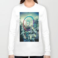 dream catcher Long Sleeve T-shirts featuring Dream Catcher by Sandy Broenimann