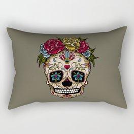 """SUGAR SKULL"" Rectangular Pillow"
