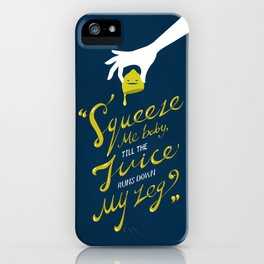 The Lemon Song iPhone Case