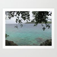 Virgin Islands Art Print