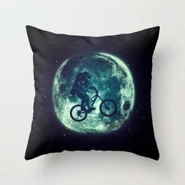 E.T.B. (variant) Throw Pillow