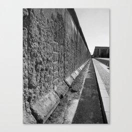 The Berlin Wall Canvas Print