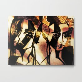 Wilda and Marion Metal Print
