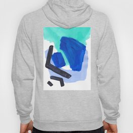Ocean Torrent Whirlpool Teal Turquoise Blue Hoody