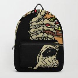 Skull Hamburger Best gift Backpack
