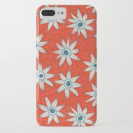 sema fire orange blue iPhone Case