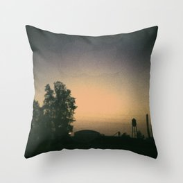 one october night. Throw Pillow