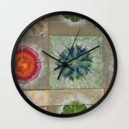 Baculum Concord Flower  ID:16165-040029-30001 Wall Clock