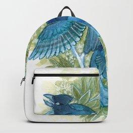 Blue Jays and Tea Olive Plant Backpack