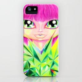 Heart Chakra Girl iPhone Case