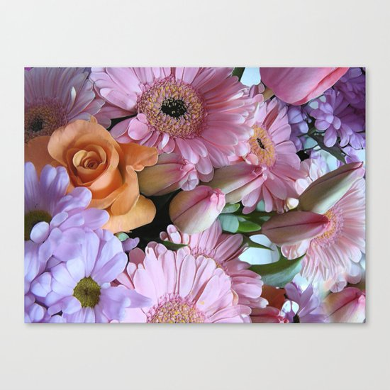 A Pink Mind is a Joy Forever! Canvas Print