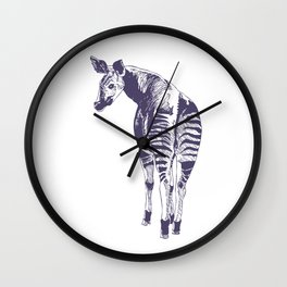 Okapi Wall Clock