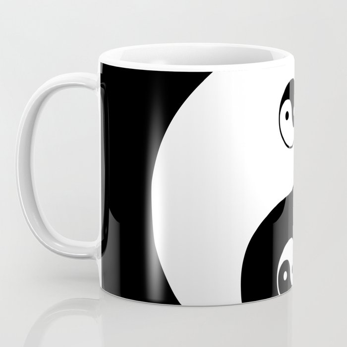 Ying Yang The Symbol Of Harmony And Balance Good And Evil Coffee