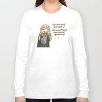 thranduil Long Sleeve T-shirts featuring Thranduil Zombies  by BlacksSideshow