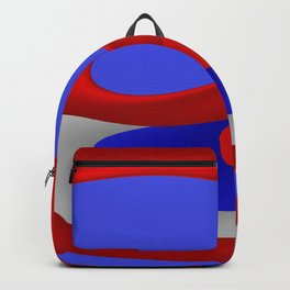 sweeping lines for your home -5- 4th of July Backpack