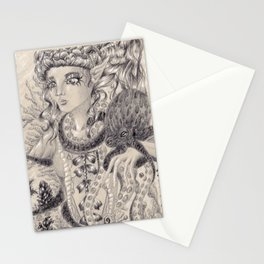 Swirling Depths Stationery Cards