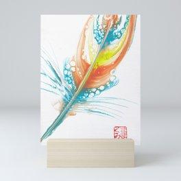 Feather Of Transformation 2 (Signature) Mini Art Print