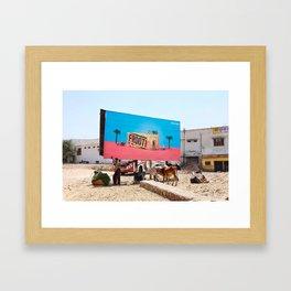 Frooti Framed Art Print