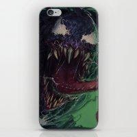 venom iPhone & iPod Skins featuring Venom by MATT DEMINO